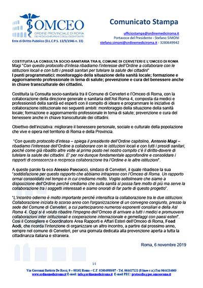 Newsletter Dell Ordine Provinciale Di Roma Dei Medici Chirurghi E Degli Odontoiatri