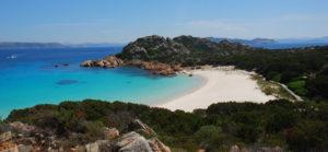 Spiaggia sull'isola di Budelli