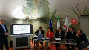 Presentazione tram a Firenze