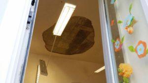 crollo soffitto scuola ostuni