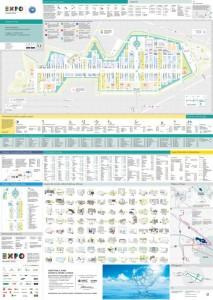 La mappa di Expo