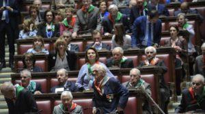 I partigiani a Montecitorio