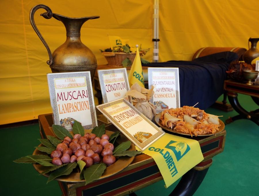 All 39 expo trionfano i cibi dell 39 antica roma oggi un piatto for Cibi tipici di roma