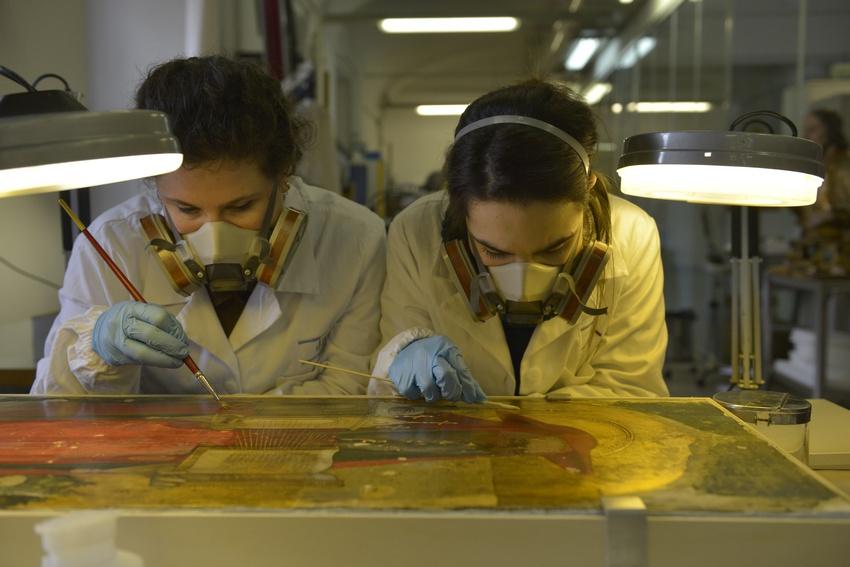 Scuola Di Restauro Roma.Ecco Come Si Salva La Grande Bellezza L Istituto Superiore Per La