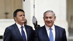 Matteo Renzi - Benjamin  Netanyahu