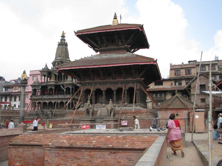Tempio a Patan Durbar Square