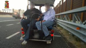 Emiro in autostrada