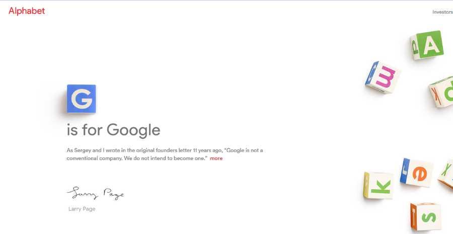 g for google