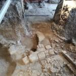 """La """"Casa dei Re"""" sotto l'istituto nazionale geologico datata VI secolo AC"""
