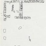 Planimetria della Casa dei Re