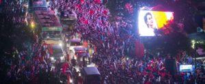 Myanmar - La gioia dei sostenitori del nld-2- Fonte Twitter