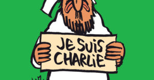 "A handout document released on January 12, 2015 in Paris by French newspaper Charlie Hebdo shows the frontpage of the upcoming ""survivors"" edition of the French satirical weekly with a cartoon of the Prophet Mohammed holding up a ""Je suis Charlie"" ('I am Charlie') sign under the words: ""Tout est pardonne"" ('All is forgiven'). The frontpage was released to media ahead of the newspaper's publication on January 14, 2015, its first issue since an attack on the weekly's Paris offices last week left 12 people dead, including several cartoonists. It also shows Mohammed with a tear in his eye.  AFP PHOTO  / HO  /CHARLIE HEBDO  = RESTRICTED TO EDITORIAL USE -- MANDATORY CREDIT ""AFP PHOTO / HO/CHARLIE HEBDO- NO MARKETING - NO ADVERTISING CAMPAIGNS -- DISTRIBUTED AS A SERVICE TO CLIENTSHO/AFP/Getty Images"