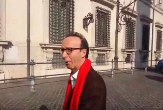 Referendum, Benigni: indispensabile che vinca il sì