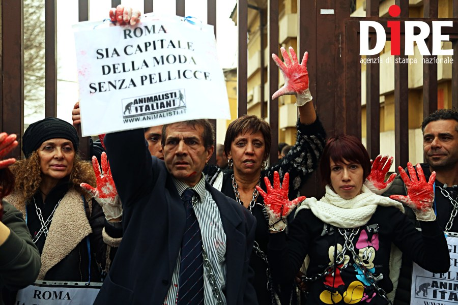 protesta animalisti_altaroma