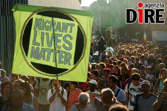 Protesta migranti