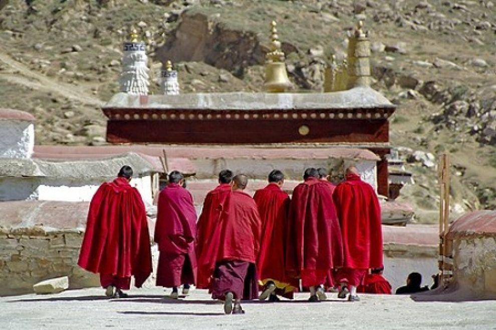 monaci tibet