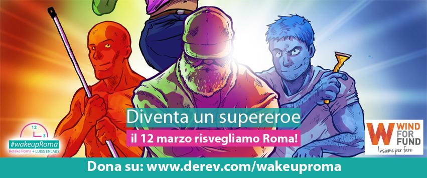 wake up roma