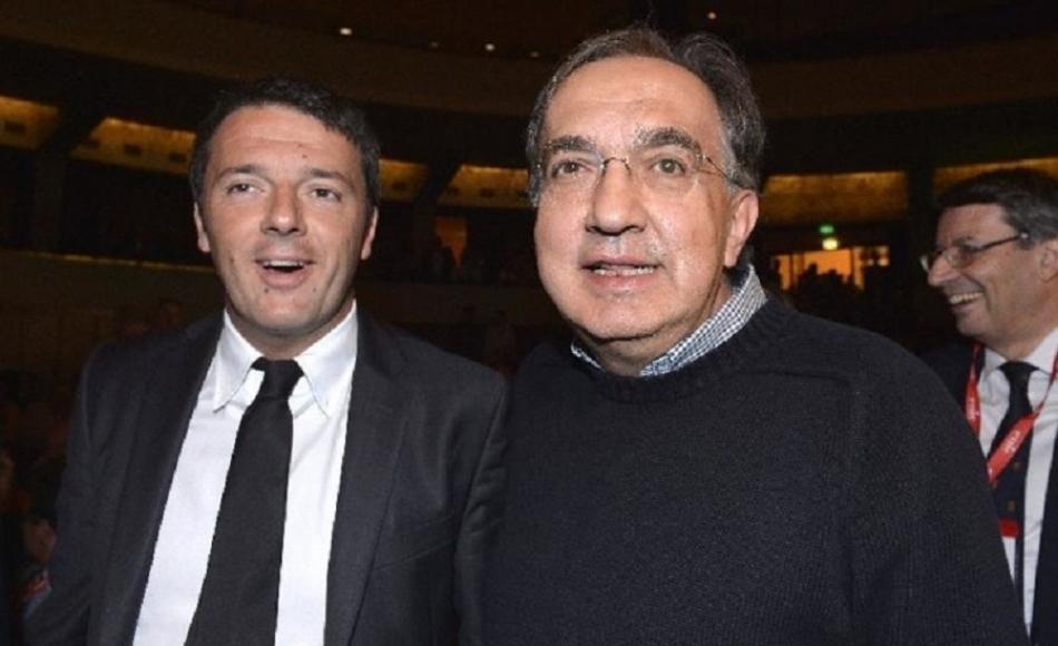 Renzi: ha fatto più Marchionne per i lavoratori di certi sindacalisti