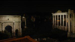 illuminazione foro romano