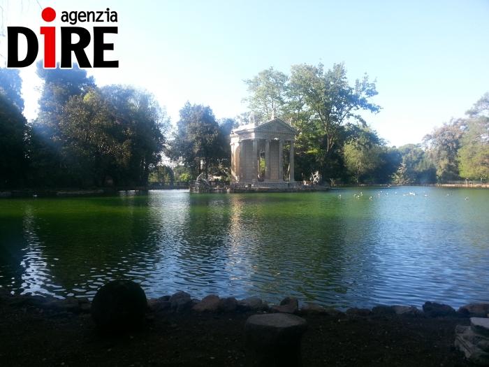Villa Borghese_ il laghetto