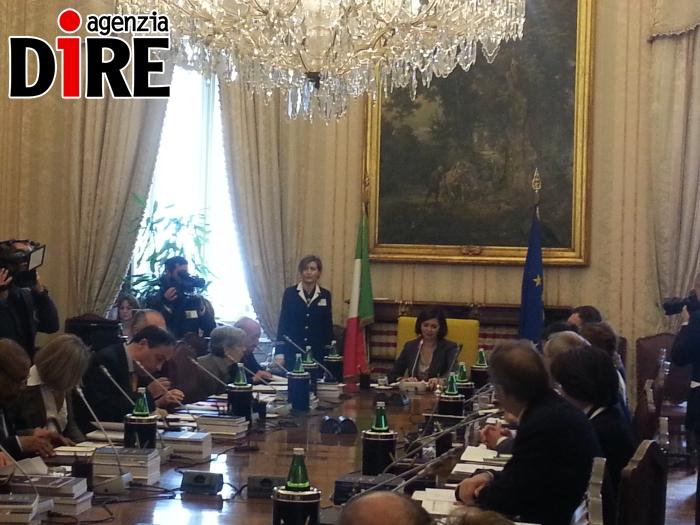 Discorso Camera Boldrini : Basta con lodio boldrini insedia la commissione di studio dire.it
