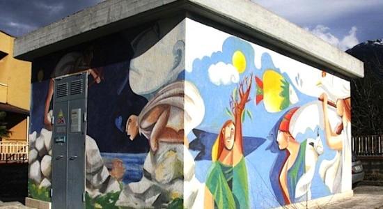 enel street art