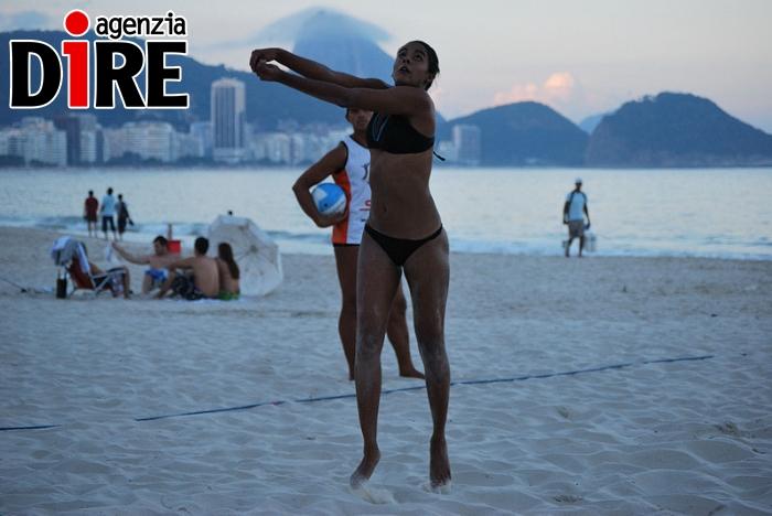 Beach volley a Copacabana, Rio De Janeiro 2