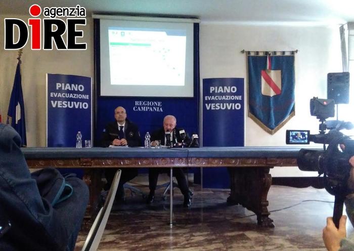 Rischio Vesuvio, Prot. Civile Campania aggiorna piano ... - 2
