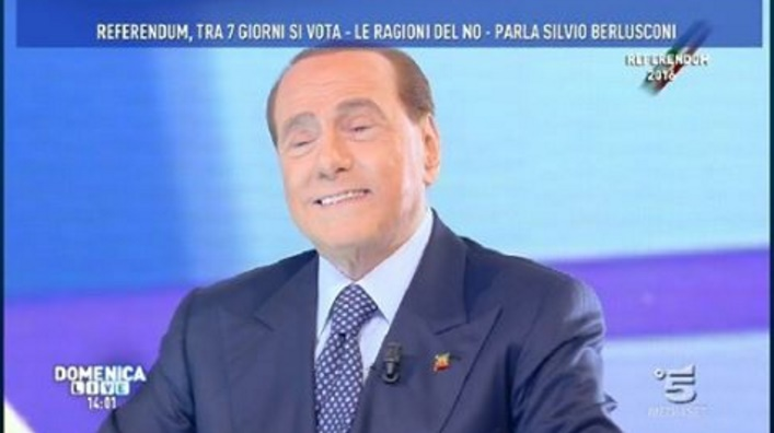 Referendum. Berlusconi di