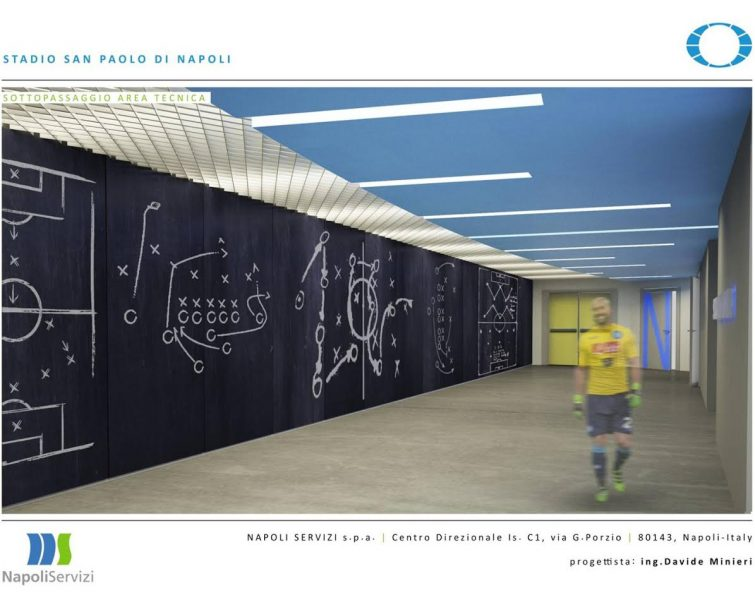 Pronto il progetto per il nuovo Stadio San Paolo