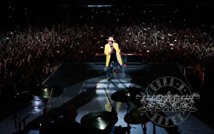 Guns N' Roses in concerto a Imola a giugno 2017