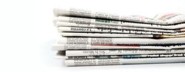 Le prime pagine dei quotidiani di Lunedì 6 Luglio 2020