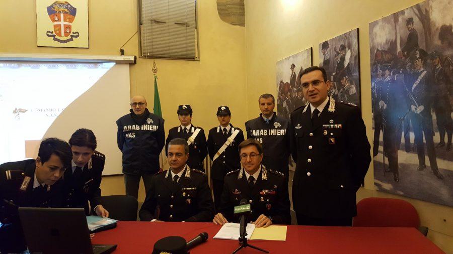 carabinieri carne avariata