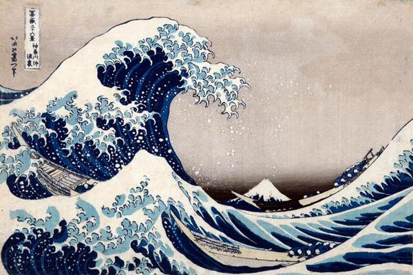 Katsushika Hokusai - La [grande] onda presso la costa di Kanagawa