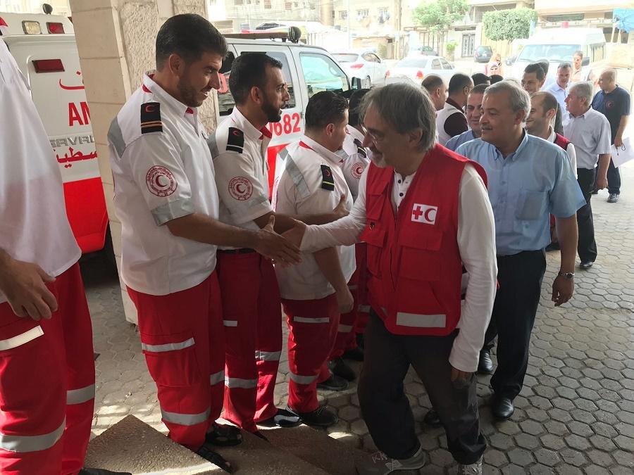La visita del Presidente Rocca in Ospedale Credit to Tommaso Della Longa
