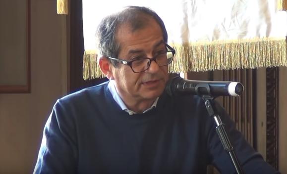 Giovanni Tria - ministro dell'Economia
