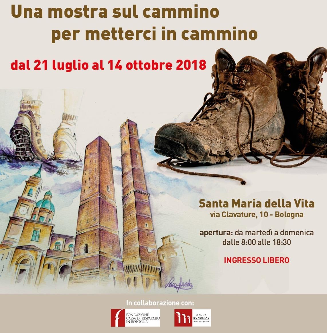 best loved 5e180 79b70 Scarpe e camminatori, la mostra approda a Bologna. Fino al ...