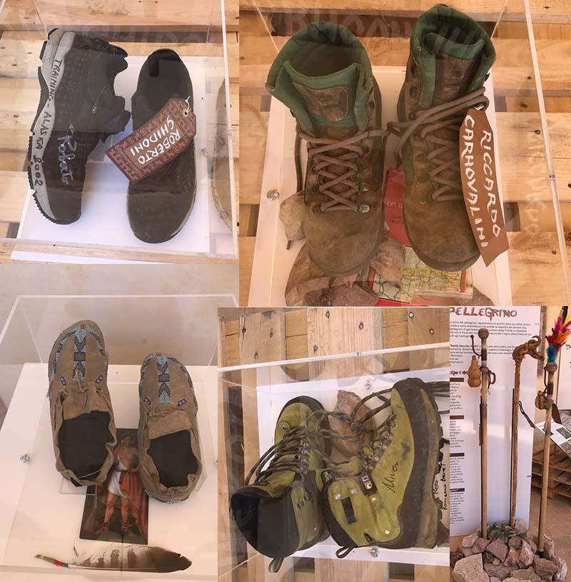 best loved b0a6c 8a1ac Scarpe e camminatori, la mostra approda a Bologna. Fino al ...