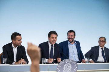 di maio_conte_salvini_tria_imagoeconomica
