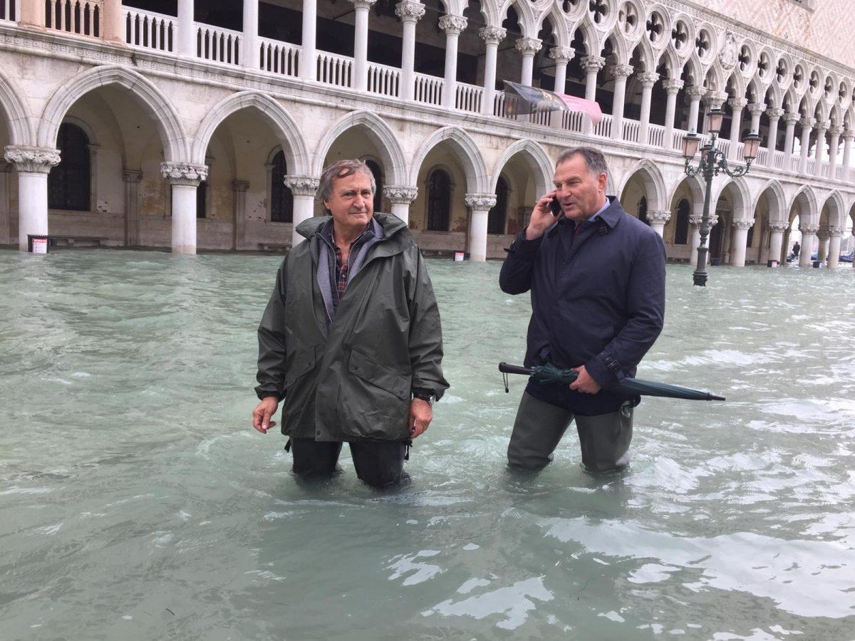 maltempo venezia_acqua alta_brugnaro