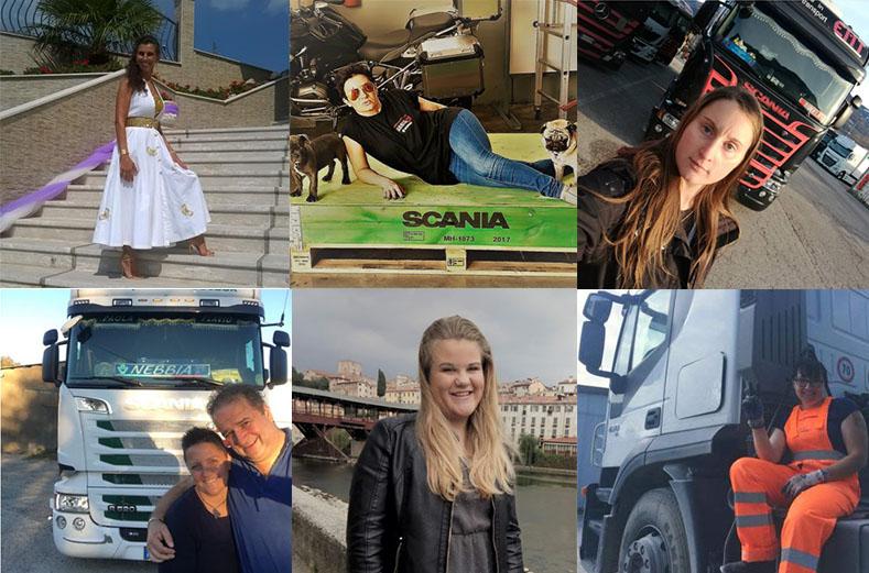 Donne, il gruppo Nuti cerca la camionista del 2019. E quest'anno si vota online