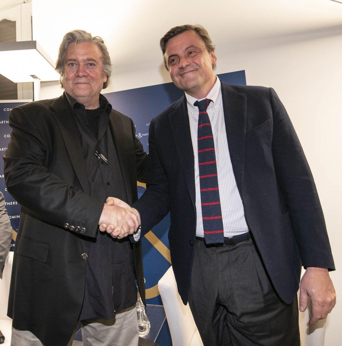 STEVE BANNON POLITICO CARLO CALENDA POLITICO