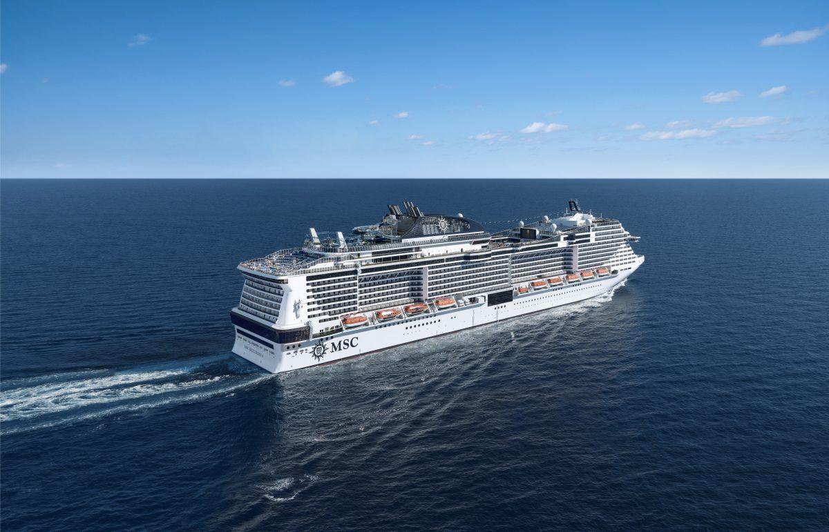 Ecco bellissima la nuova nave msc crociere allinsegna della