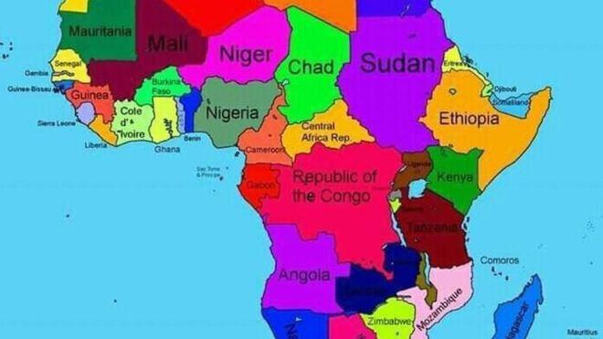Cartina Geografica Italia Africa.Africa L Etiopia Sbaglia La Mappa Furia Social In Somalia Dire It