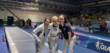 Erica Cipressa, Camilla Mancini e Martina Sinigalia