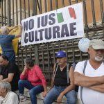 MANIFESTAZIONE LEGA FRATELLI D' ITALIA FORZA ITALIA ORGOGLIO ITALIANO