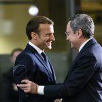 Emmanuel Macron Mario Draghi