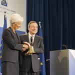 Christine Lagarde Mario Draghi