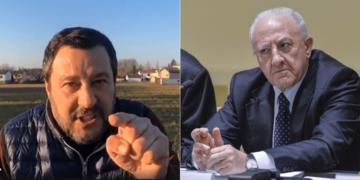 Vincenzo De Luca_Matteo Salvini