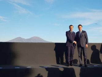Emmanuel Macron_Giuseppe Conte